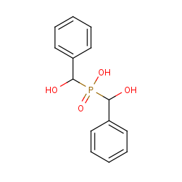 bis[hydroxy(phenyl)methyl]phosphinic acid