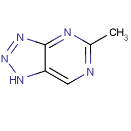v-triazolo[4,5-d]pyrimidine, 5-methyl-