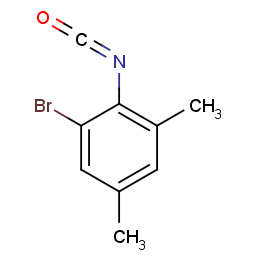 2-Bromo-4,6-dimethylphenyl isocyanate
